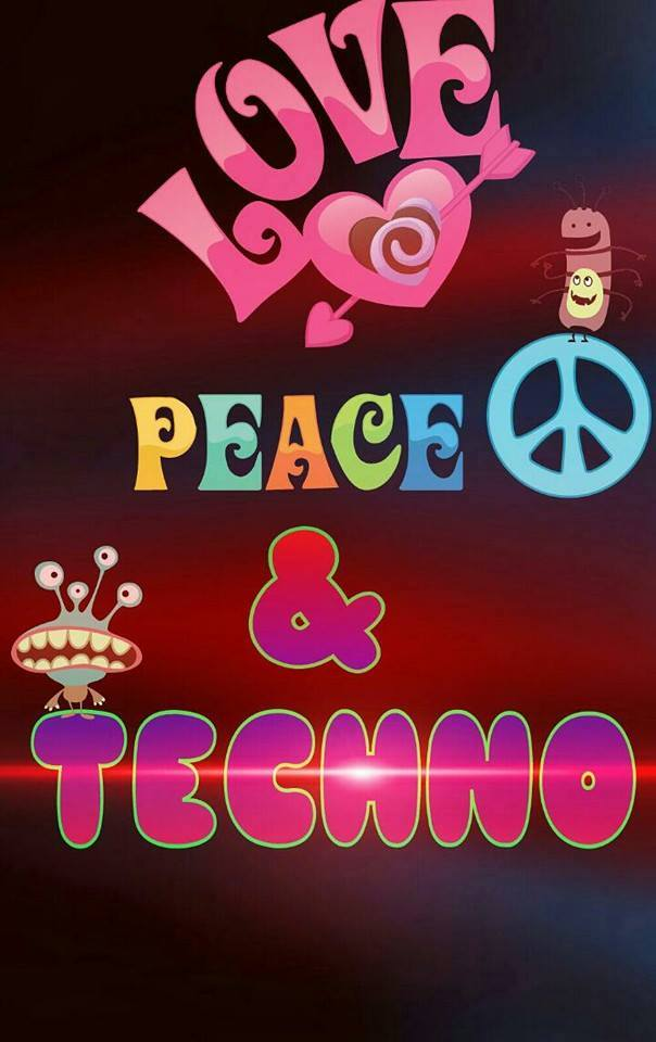 love peace & techno